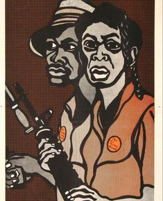 Black Panther Party, Emory Douglas, Political Art, Political Posters, African American Artist, Social Art, Famous Art, African History, Black Power