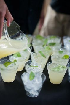 'Mint to be' Mojitos