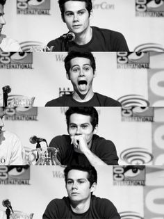 """You know, sometimes I think """"I may find y true love someday"""" but then I look at a picture of Dylan O'Brien and say """"I'm forever screwed"""""""