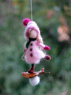 Christmas Fairy Ornament Nadel gefilzte Ornament von Made4uByMagic