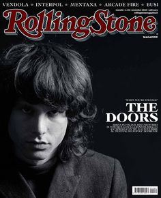 I primi 100 numeri di Rolling Stone. N°85 – Novembre 2010. In copertina Jim Morrison - The Doors