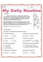 Essay on daily routine of housewife