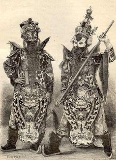 Nguyễn Dynasty opera costumes, Vietnam