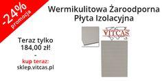 Wermikulitowa Żaroodporna Płyta Izolacyjna (efekt fali, 800x600x25mm) w promocji w naszym sklepie: http://sklep.vitcas.pl/pl/p/Wermikulitowa-Zaroodporna-Plyta-Izolacyjna-EFEKT-FALI-800x600x25mm-/261.