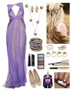 """Castle Bound"" by queenstella ❤ liked on Polyvore featuring Badgley Mischka, Oasis, Urban Decay, Thierry Mugler, Accessorize, Aurélie Bidermann, Amrita Singh, ALDO, Trish McEvoy and Clé de Peau Beauté"