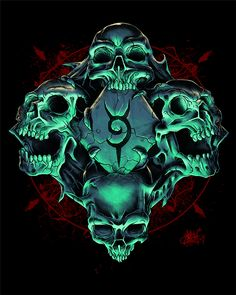 All About Art Tattoo Studio Rangiora. Quality work by Professional Artist. Skull Wallpaper, Images Wallpaper, Wallpapers, Dark Fantasy Art, Dark Art, Skull Coloring Pages, Badass Skulls, Totenkopf Tattoos, Skull Pictures