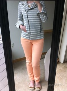 Been wanting to try some colored pants or capris!  Stitch Fix #3: June 2015 ~ t is for twentysomething