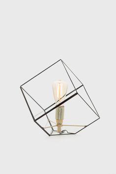 """Hangemaakte koperen tafellamp """"Liv"""" - Lokaal20"""