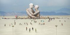 These sensory sculptures are just one of many reasons to check out Burning man festival.