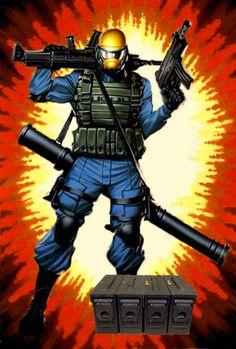 Steel Brigade Commander