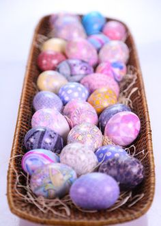 Silk-Dyed Eggs! #TheChew #Easter