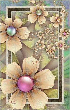 Kattvinge by afugatt on DeviantArt Fractal Art, Fractals, Flower Wallpaper, Iphone Wallpaper, Emoji Love, Journal Covers, Recipe Cards, Pretty Pictures, Love Art