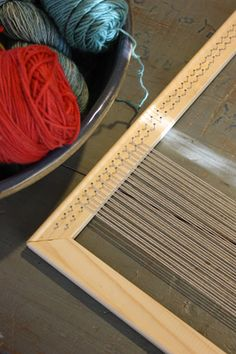 making a tapestry loom