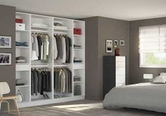 45 meilleures images du tableau Dressing | Small bedrooms, Walk in ...