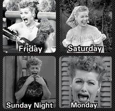 Ha Ha! Do we really need Monday's? I don't think sooo!
