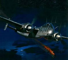 1944 Heinkel He 219 A-2 G9+BH I. NJG 1 Oberfeldwebel Hans Keilich - Jaroslaw Wróbel