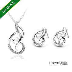 Find More Jewelry Sets Information about Wholesale Jewelry Sets 925 Sterling Silver Full CZ Zircon Micro Pave Rhinestone Girl's Fashion Love Heart Wedding Accessories,High Quality jewelry hair accessories,China accessories beach Suppliers, Cheap accessories winter from ULove Fashion Jewelry Store on Aliexpress.com