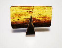 Handmade Baltic Amber Sterling Silver Ring no.1833K