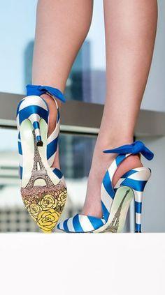 Fashion statement shoes