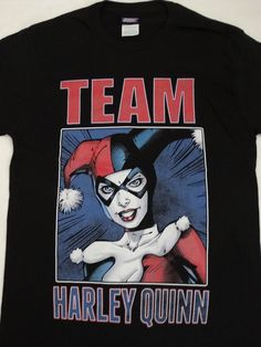 Team Harley Quinn Batman Dc Comics T-Shirt #DCComics #GraphicTee