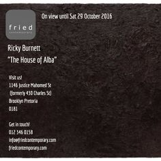 On view until Sat 29 October 2016 Visit our website for more info! #art #exhibition #pretoria #south_africa #contemporary #local #events
