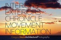 The Architectural Photographer App showcases the professional and personal photographic work of Gregory Storm. Great Apps, Architectural Photographers, Interior And Exterior, Architects