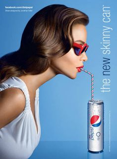 Sofia Vergara is a famous actress who currently is the image for the advertisement of Pepsi. Using celebrities is a good tactic to get attention.