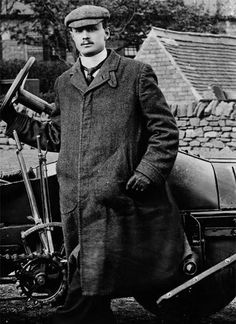 Charles Rolls helped to start the famous motoring co, with Henry Royce