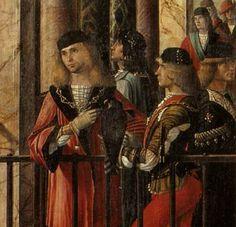 "Carpaccio's ""The Ambassadors"" (c.1490)"