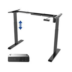 SANODESK electrically height-adjustable desk with collision protection, memory control - Arbeitszimmer Adjustable Height Desk, Desktop, Led, Memories, Stabil, Home Decor, Household, Furniture, Products