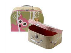 Heldenkind - Silly U Kinder Koffer Set Forest Pink