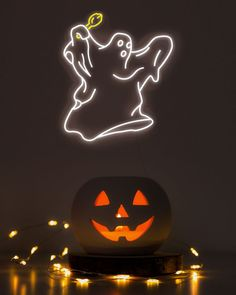 Planning to scare everyone this coming Halloween? Create your own Custom Neon Sign featuring HiNeon's advanced LED technology! Retains all of neon's sharp looking attributes, but with more colors and extra shapes! Say goodbye to traditional hazardous glass tubes and welcome a much safer, customizable, and sleek looking PVC coating. #HiNeon #NeonSign #CustomNeon Custom Neon Signs, Lightroom Presets, Pumpkin Carving, Printable Art, Nursery Decor, Create Your Own, Craft Supplies, Clip Art, Etsy Shop