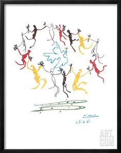 The Dance of Youth, by Pablo Picasso