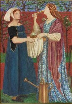 Dante Gabriel Rosseti's take on the gardening smock--THE SARTORIALLY CORRECT GARDENER