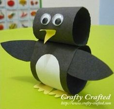 Cute penguin craft