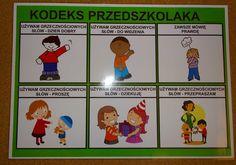KODEKS PRZEDSZKOLAKA - PLANSZA 3 Education, Comics, Cartoons, Onderwijs, Learning, Comic, Comics And Cartoons, Comic Books, Comic Book