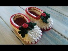 ▶ (crochet) How To - Crochet Simple Chunky Baby Booties - YouTube