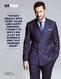richard armitage 2015 | The Makings of a King': Richard Armitage para DA MAN Magazine ...