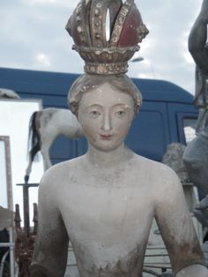 Statue from a brocante in Provence xo--FleaingFrance