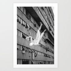il suicidio dell'arte Art Print by Francesco Mestria - $12.48