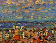 Crescent Beach Maurice Prendergast - Maurice Prendergast - Wikipedia, the free encyclopedia