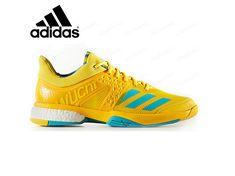 adidas Unisex Badminton Shoes Wucht P8 Adiwear Racket Indoor Sports BY1821  NWT. BadmintonAdidas Originals MensSportDrop ... 42fc4a3ca