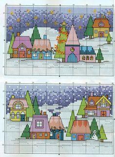 Christmas Scenes Chart 1