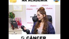 Câncer - Como cada signo é na academia