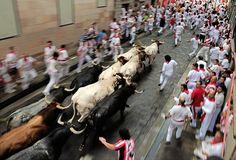 Korhatáros képek a bikafuttatásról – Nagyítás fotógaléria