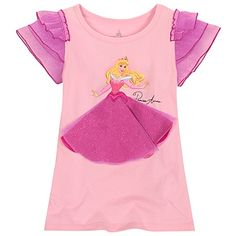 Glittering Gown Sleeping Beauty Tee for Girls - I think this is the shirt that started it all. Now I just need to make this in adult size...