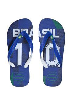 Sandália Havaianas Teams II Azul - Compre Agora | Dafiti