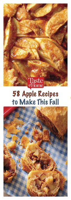 From classic apple pie and apple crisp to more inventive apple salad, dip, quick bread, muffins and more, here are the must-try apple recipes to enjoy now. Home Recipes, Fruit Recipes, Apple Recipes, Fall Recipes, Dessert Recipes, Cooked Apples, Apple Bread, Bread And Pastries, Roasted Turkey