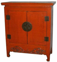Traditional Chinese Cabinet   Antique Red   OrientalFurniture.com |  Furniture | Pinterest | Chinese Cabinet, Buffet And Traditional