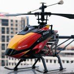 WLtoys V913 Single Propeller 2.4G 4 Channel MEMS Gyro RC Helicopter Airflow Sky Leader Remote Control Copter with LCD Transmitter